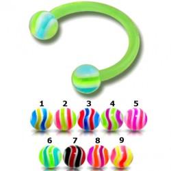Piercing micro-circulaire 99 - Flexible strié