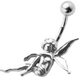 Piercing nombril fée 19 - Ange assis