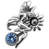 Piercing nombril fée 34 - Inversé avec fleur