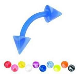 Piercing pour arcade acry 39 - Flexible melon pointes