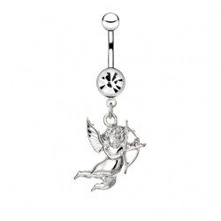 Piercing nombril ange 11 - Cupidon