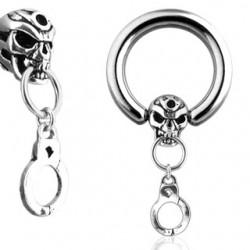 Piercing anneau 1,6mm 27 - Death esclave