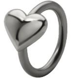 Piercing anneau 1,6mm 101 - Coeur