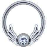 Piercing anneau 1,6mm 105 - Deux grandes ailes