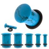 Plug o-ring en turquoise