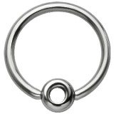 Piercing anneau 1,6mm 114 - Cercle creux