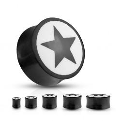 Plug courbe en corne étoile