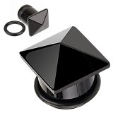 Plug onyx carré o-ring