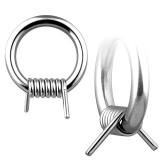 Piercing anneau en acier barbelé 2 à 3mm
