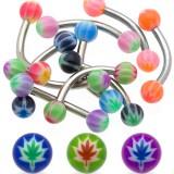 Piercing pour arcade acry 51 - Cannabis