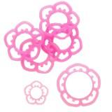 O-ring flower rose