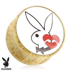 Plug courbe Playboy en bois C