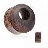 Tunnel courbe petit rond en bois