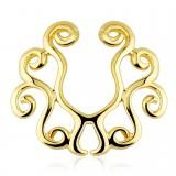 Faux-piercing pour téton 14 - Gold-ip lianes