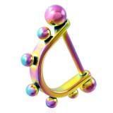 Bouclier de téton 02 - Rainbow boules