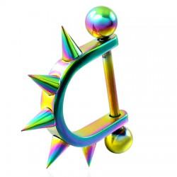 Bouclier de téton 03 - Rainbow pointes