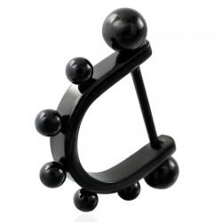 Bouclier de téton 05 - Noir pointes