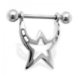 Piercing téton étoile 13 - Majestueuse