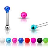 Piercing stud de nez 0.5mm 19 - Anodisé titane