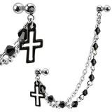 Chaine pour oreille 05 - Croix