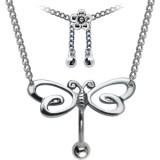 Chaine de taille avec Piercing 24 - Papillon