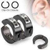 Faux Piercing oreille 40 - Clip étoiles (la paire)