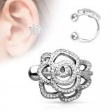 Faux Piercing oreille 64 - Fleur