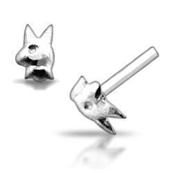 Piercing nez pliable 0.5mm 19 - Lapin