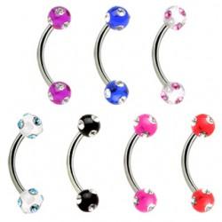 Piercing pour arcade acry 15 - Tiffany