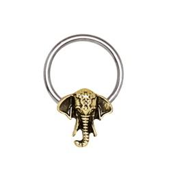 Piercing micro-bcr 51 - éléphant vintage