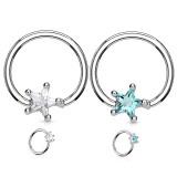 Piercing micro-bcr 143 - Cristal étoile
