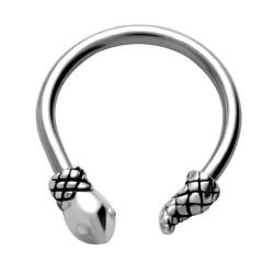 Piercing micro-circulaire 82 - Serpent