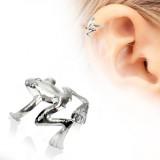 Faux Piercing oreille 67 - Grenouille