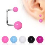 Piercing oreille original 20 - En U acrylique
