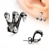 Piercing oreille original 24 - Serres de rapace