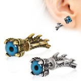 Piercing oreille original 28 - Oeil dragon