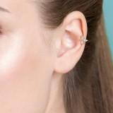 Cartilage hélix, tragus 197 - PVD Papillon cristal