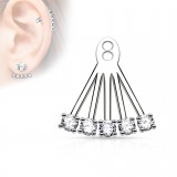Jacket oreille 06 - Cinq ronds transparents