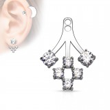 Jacket oreille 08 - Six ronds transparents