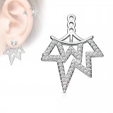 Jacket oreille 22 - Multistrass pointus