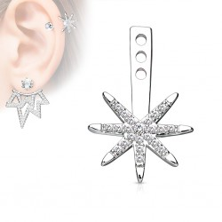 Jacket oreille 19 - étoile multistrass