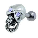 Cartilage hélix, tragus 341 - Crane gris