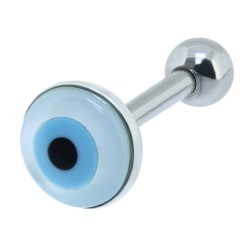 Cartilage hélix, tragus 344 - Oeil bleu
