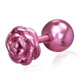 Cartilage hélix, tragus 144 - Fleur rose