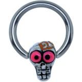 Piercing anneau 1,6mm 122 - Funny zombie C