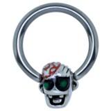 Piercing anneau 1,6mm 123 - Funny zombie D