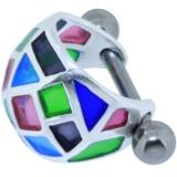Piercing hélix 117 - Vitraille A