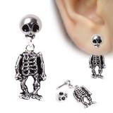 Piercing oreille original 12 - Squelette