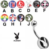 Piercing nombril logo Playboy A