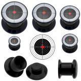 Plug acrylique dévissable cible
